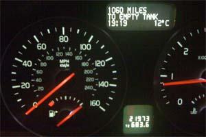 1,060 miles to empty