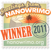 NaNoWriMo Winner Badge, 2011